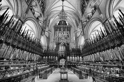 Lincoln Cathedral The Choir II Art Print