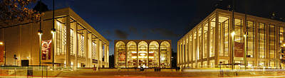 Art Print featuring the photograph Lincoln Center At Night by Yue Wang