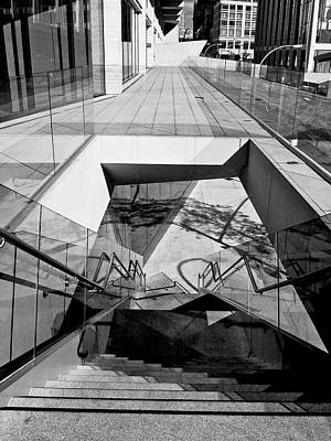 Photograph - Lincoln Center Lines 1 by Cornelis Verwaal