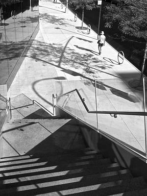 Photograph - Lincoln Center Lines 3 by Cornelis Verwaal