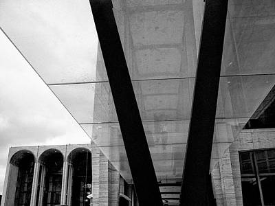 Photograph - Lincoln Center Lines 4 by Cornelis Verwaal