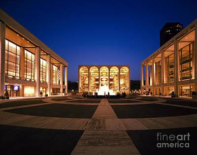 Lincoln Center Art Print