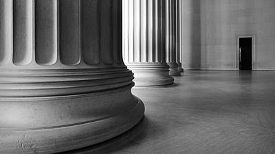 Lincoln Columns Art Print by Michael Donahue