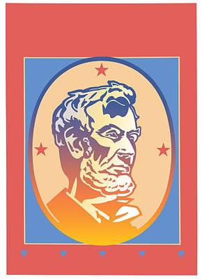 Abolition Digital Art - Lincoln by David Chestnutt