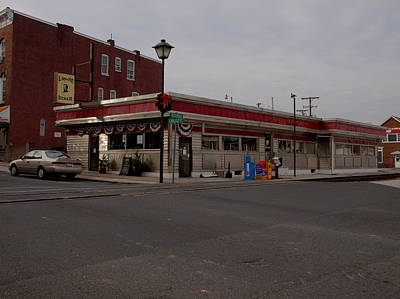 Photograph - Lincoln Diner by Joshua House
