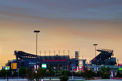 Philadelphia Phillies Stadium Photograph - Lincoln Financial Field In A New Light by Bill Cannon