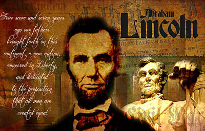Digital Art - Lincoln by Greg Sharpe