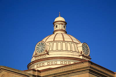 Lincoln Illinois - Courthouse Dome Art Print
