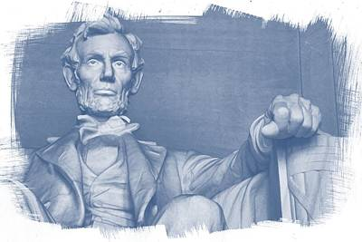 Photograph - Lincoln In Blue by Alice Gipson