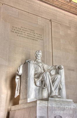 Photograph - Lincoln Memorial 2 by Jonathan Harper