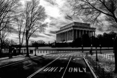 Photograph - Lincoln Memorial by Celso Diniz