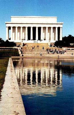 Lincoln Memorial Art Print by Daniel Thompson