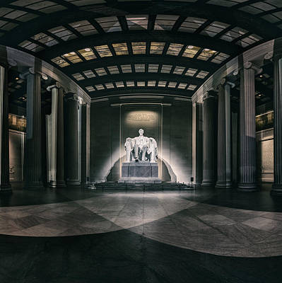 Lincoln Memorial Art Print by Eduard Moldoveanu