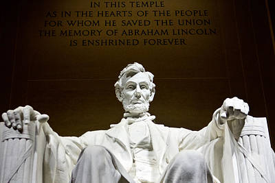 Photograph - Lincoln Memorial  by John McGraw