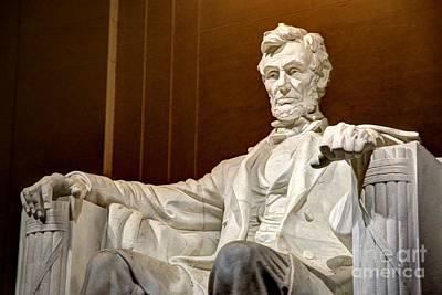 Photograph - Lincoln Memorial by Jonathan Harper