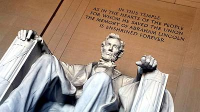 Photograph - Lincoln Memorial by Kenny Glover