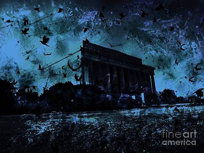 Washington D.c Digital Art - Lincoln Memorial by Marina McLain