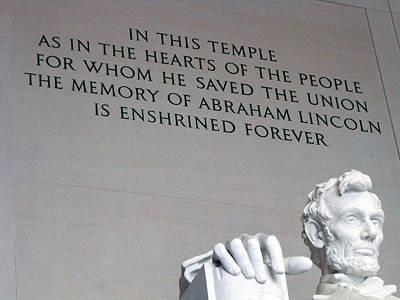 Lincoln Memorial Art Print by Nathan Shegrud