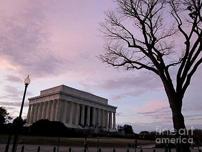 Photograph - Lincoln Memorial by Nina Donner