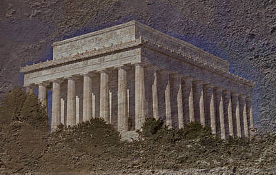 Whitehouse Photograph - Lincoln Memorial by Skip Willits