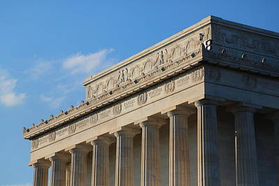 Lincoln Memorial - The Details Art Print