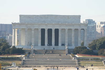 Historian Photograph - Lincoln Memorial - Washington Dc - 01131 by DC Photographer