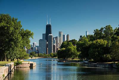 Lincoln Park Chicago Art Print by Steve Gadomski