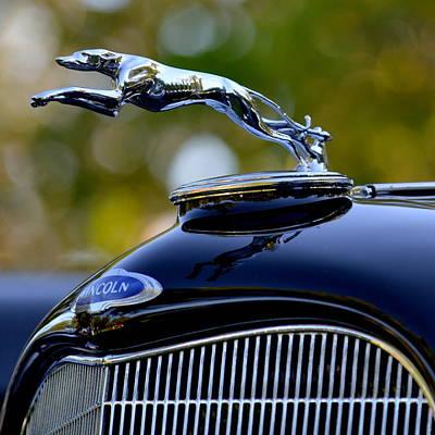 Photograph - Lincoln Radiator Cap by Dean Ferreira
