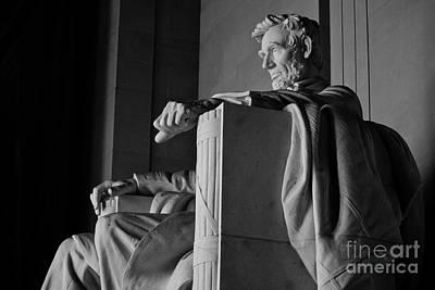 Potus Photograph - Lincoln by Shishir Sathe