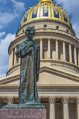 Photograph - Lincoln Stands Guard by Mary Almond