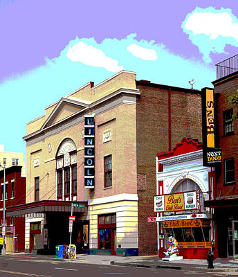 Lincoln Theatre Art Print