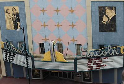 Photograph - Lincoln Theatre by Trent Mallett