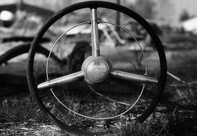 Photograph - Lincoln Wheel by Steven Loyd