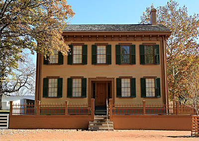 Politicians Royalty-Free and Rights-Managed Images - Lincolns Home by Stephen Stookey