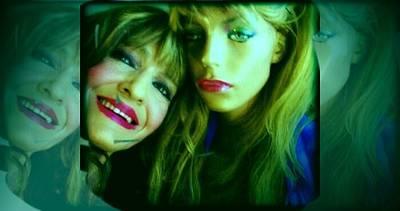 Etc. Digital Art - Linda And Holly by HollyWood Creation By linda zanini