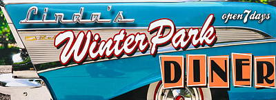 Photograph - Linda's Winter Park Diner by Denise Mazzocco