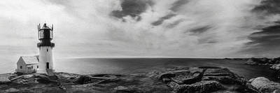 Photograph - Lindesnes Lighthouse Panorama, 2016 by Erik Brede
