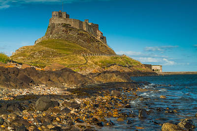 Lindisfarne Castle Art Print by David Ross