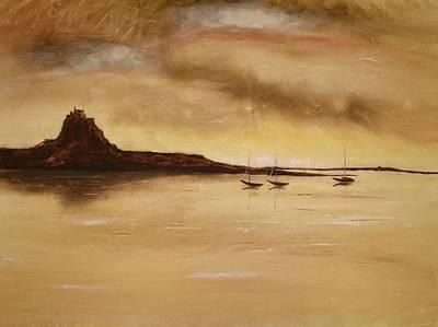Lindisfarne Castle Holy Island England Art Print