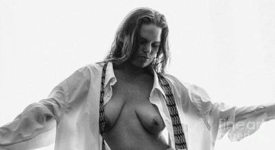 Photograph - Lindsey Portrait 3 by Michael Cross