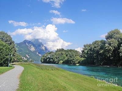 Switzerland Photograph - Lindtkanal by Karin Ravasio