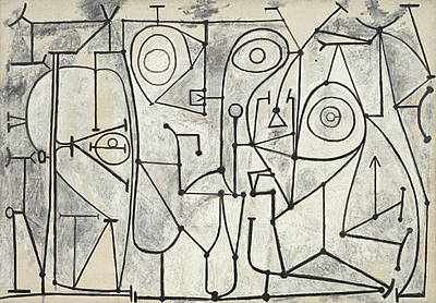 Painting - Line Art by Pablo Picasso
