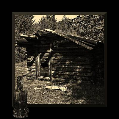 Photograph - Line Cabin by Barbara St Jean
