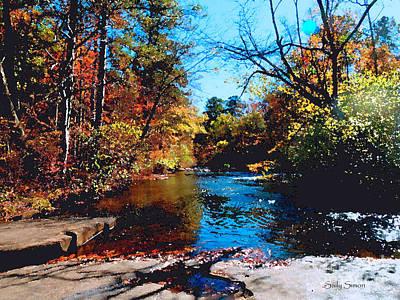 Photograph - Line Creek 1 by Sally Simon