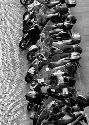Photograph - Line 'em Up - Rome Italy by Carl Amoth
