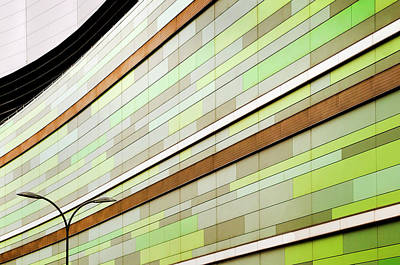 Shopping Wall Art - Photograph - Linear In Green by Linda Wride