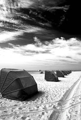 Photograph - Lined Up At Cape May by John Rizzuto
