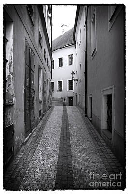 Prague Photograph - Lined Up In Prague by John Rizzuto