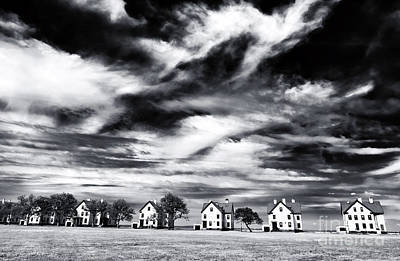 Photograph - Lined Up In Sandy Hook by John Rizzuto
