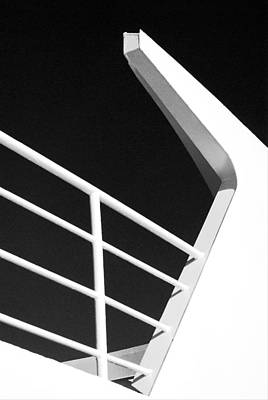 Photograph - Lines And Angles At Sea by Connie Fox